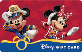 My Disney Gift Card Collection: Mickey & Minnie Cruise