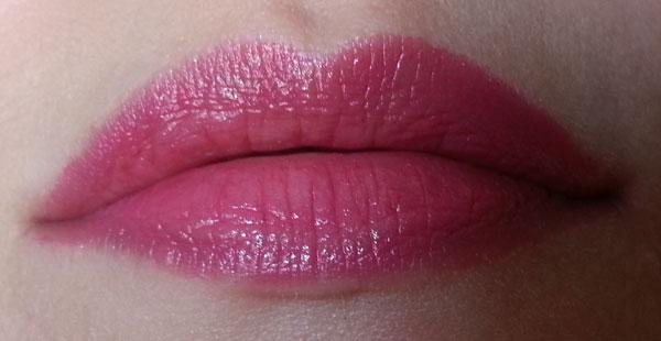Benecos - Pink Rose, Swatch labbra