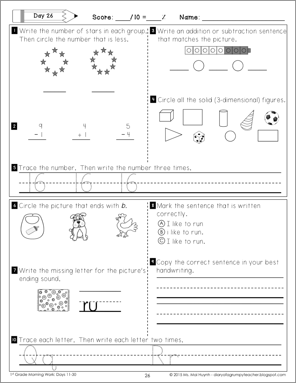 worksheet Chocolate Fever Worksheets diary of a grumpy teacher september 2015 5 i turned 34 last week and finally got roomba ive been talking non stop about how great it would be to have for at least year now