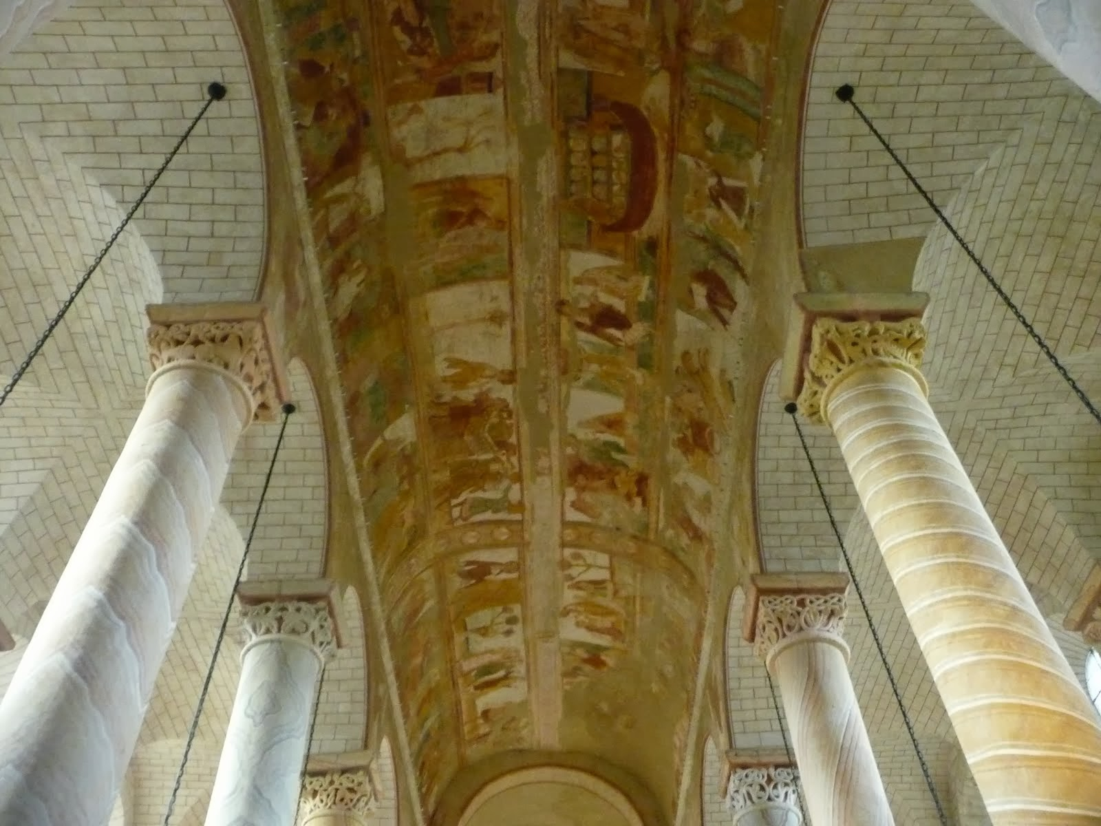 Ceiling of the Abby Church, Saint-Savin-sur-Gartempe