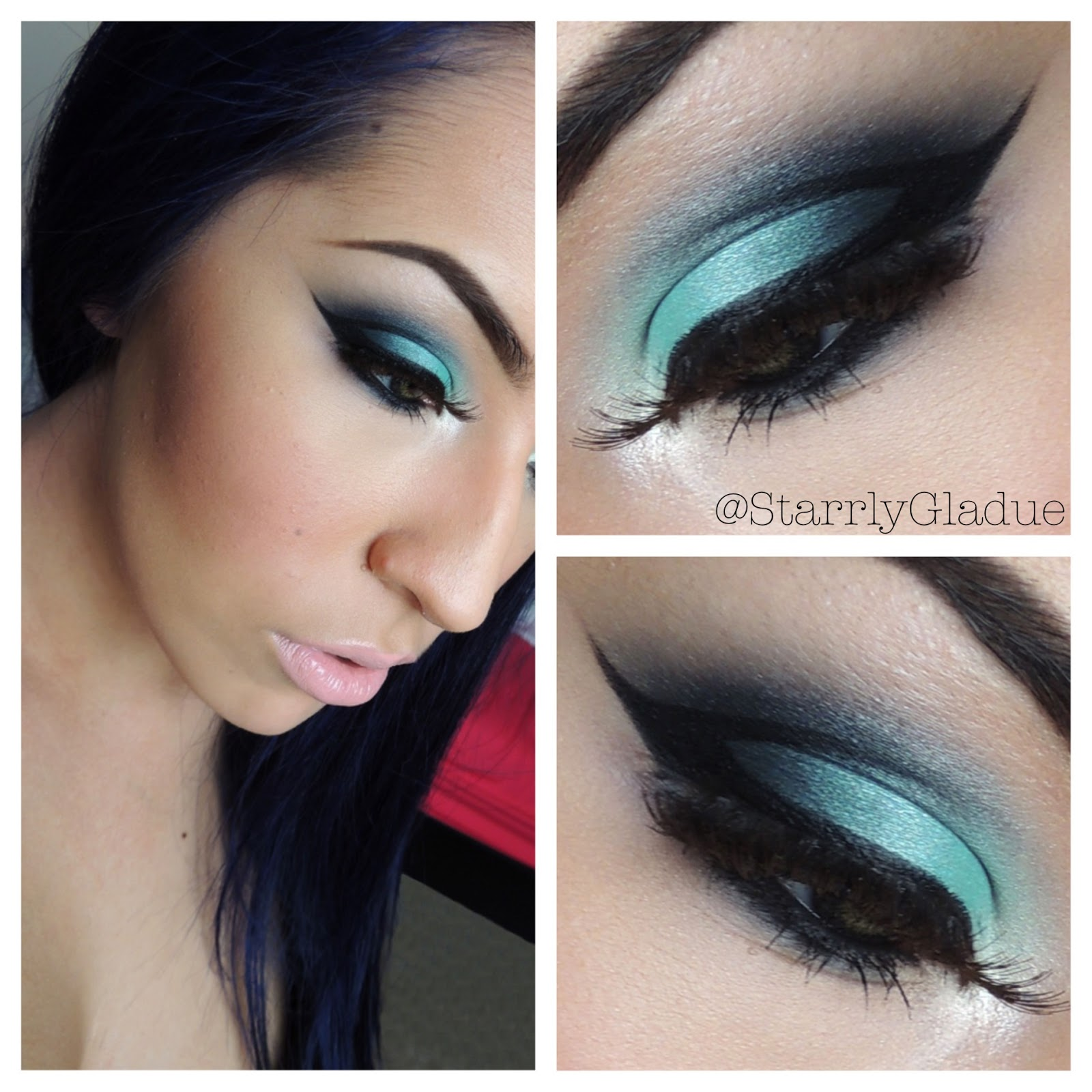 Makeup By Starrly Turquoise Eyes