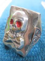 ~60's               SKULL&CROSSBONES              MEXICAN             SOUVENIR RING