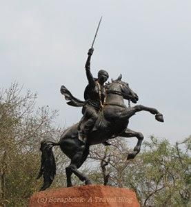 Gwalior Jhansi Rani memorial
