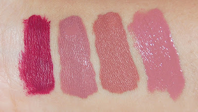Dose of Colors Liquid Lipsticks Swatches