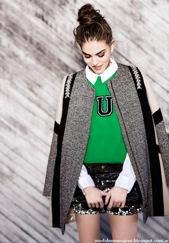 Colecciòn Uma otoño invierno 2014, tapados, camperas, moda mujer invierno 2014.