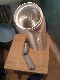 Гофрированная труба 120 для вентиляции