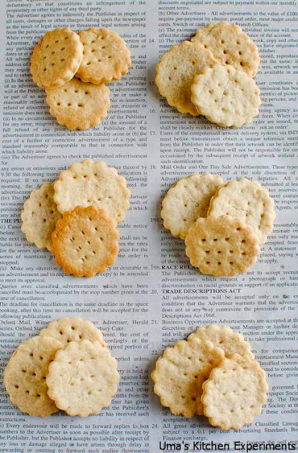 Homemade Ritz Crackers ~ My Kitchen Experiments