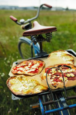 Dia de Campo Comida Bicicleta