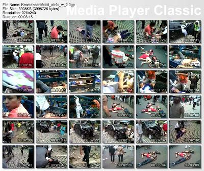 Foto Dan Video Kecelakaan Tugu Tani