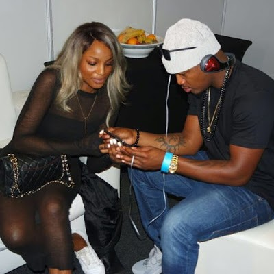 Seyi Shay Hangs Out With Neyo at Pre MAMA