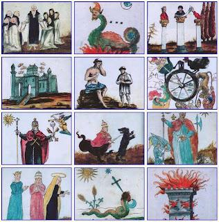 Lost Book of Nostradamus Tarot ไพ่ทาโร่ นอสตราดามุส นอสเตรอดาม ไพ่ทาโรต์ หนังสือภาพ ภาพวาด สีน้ำ