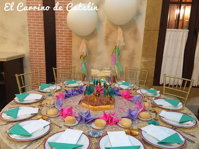 Decoración original de bodas, comuniones, bautizos