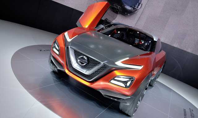 nissan z3 concept crossover