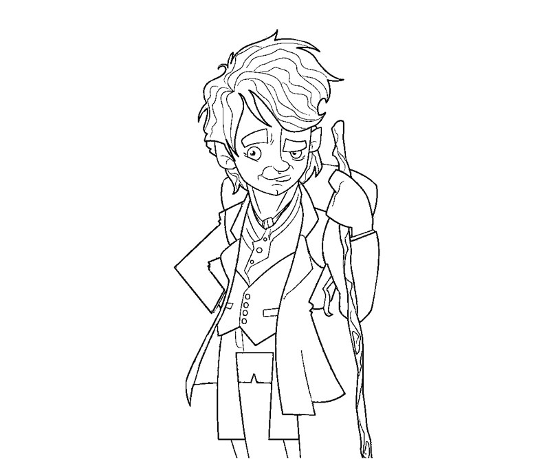 hobbit character coloring pages - photo#15