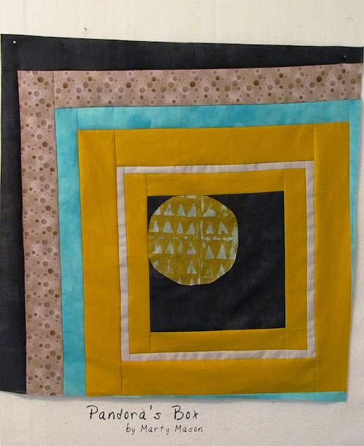 Sew, Mama, Sew!  BOM Big Block No. 6 Pandora's Box