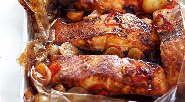 Рецепт рыбы запечённой в пакете