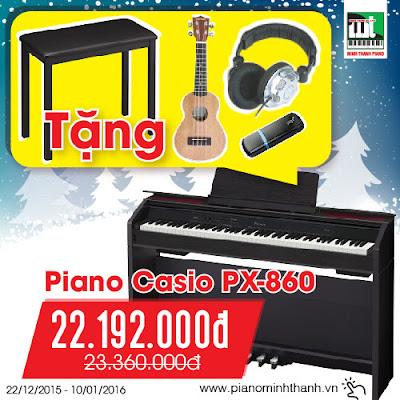 khuyen mai dan piano dien casio px860