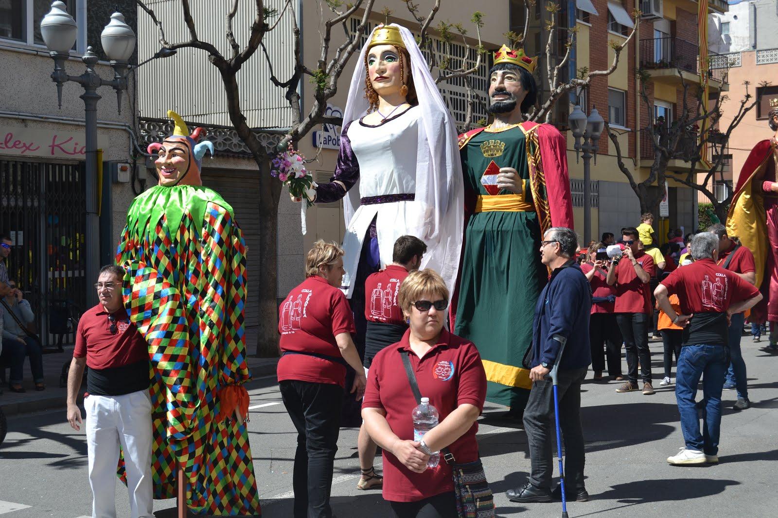 XVIII Trobada gegantera de les Comarques Meridionals de Catalunya a la Pobla de Mafumet