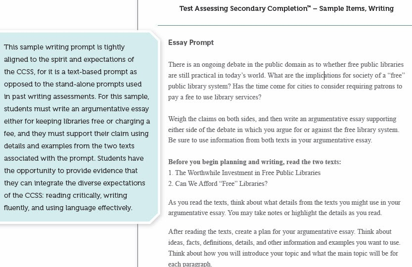 examples of gre essays