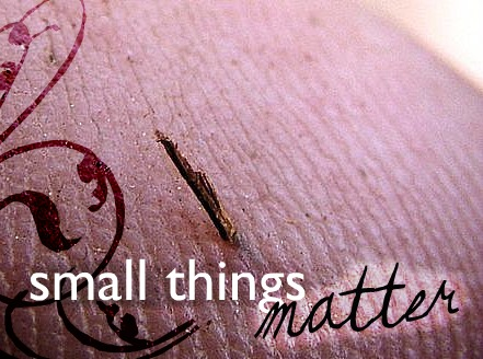 Little Things That Matter Quotes Small Things Matter