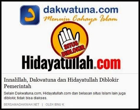 Kriteria Media Islam Radikal