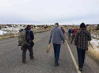Walking the Good Walk! Dineh Walking against Fracking on Navajoland!