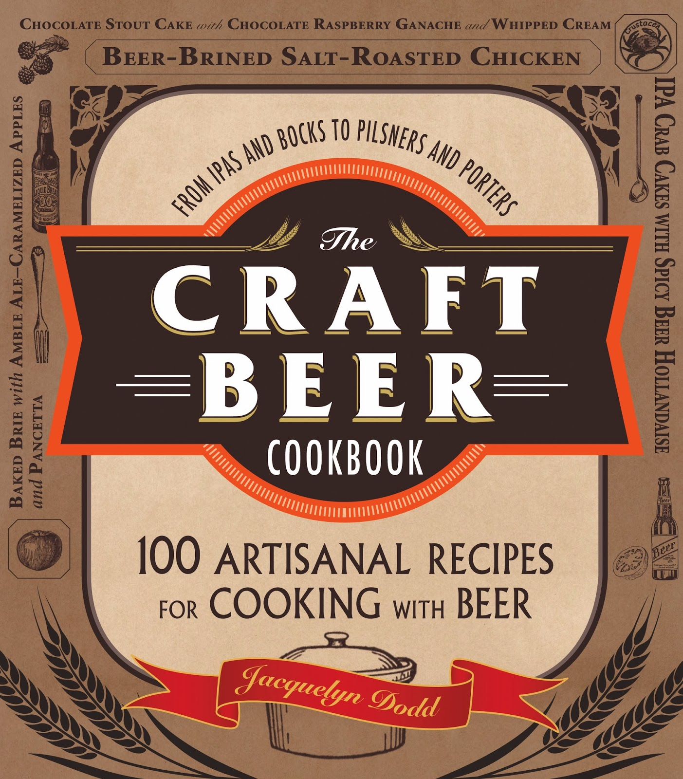 Book Cover Craft Beer ~ Ramblings of a beer runner the craft cookbook