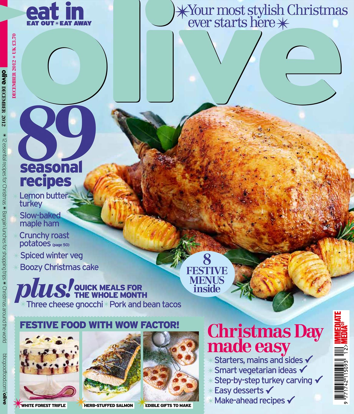 Featured gareth puts on a festive feast with a front cover for and were very excited that the bbcs olive magazine has chosen gareths shot for the front cover of its biggest selling issue for the second year in a row forumfinder Images