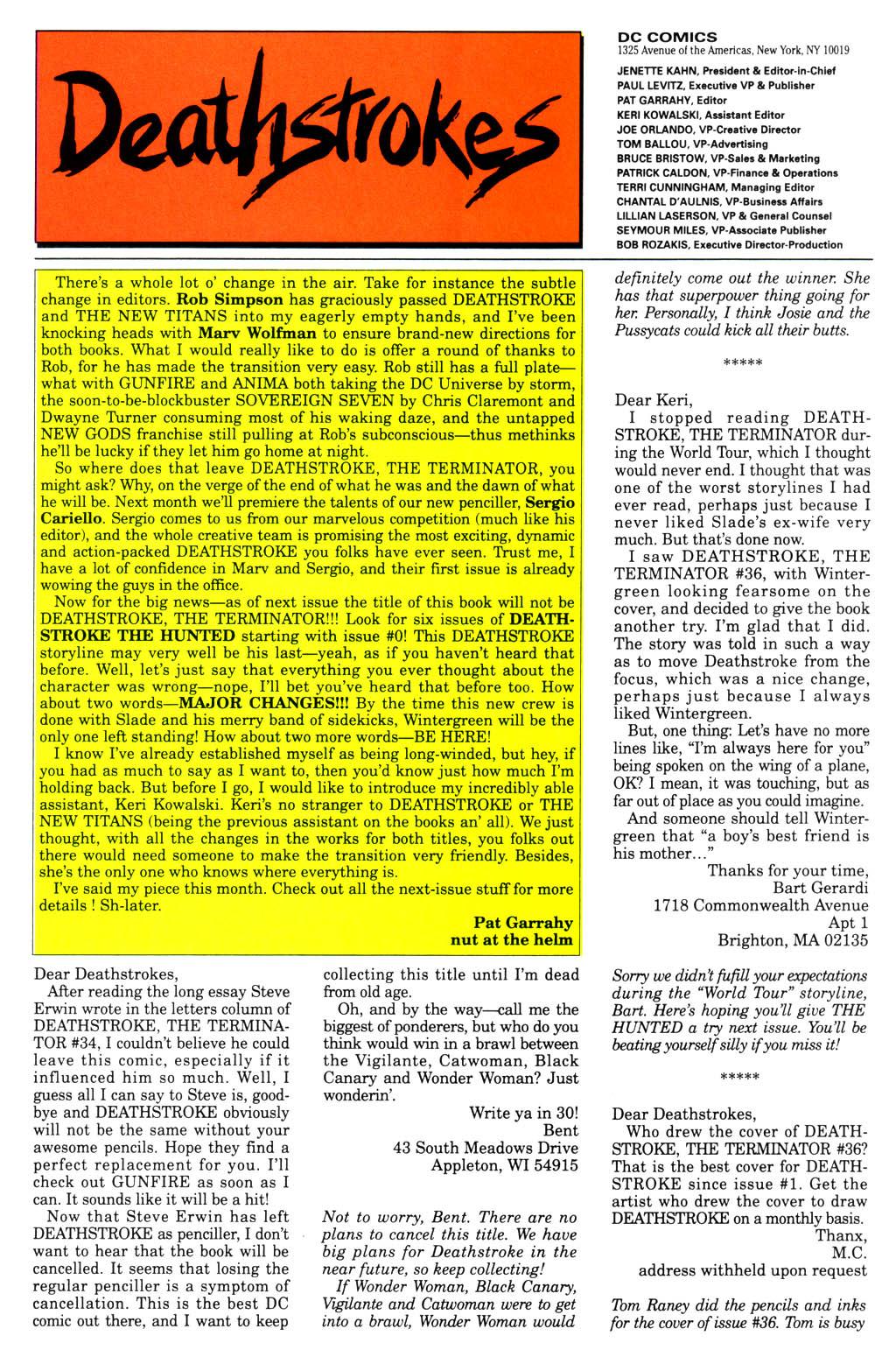 Deathstroke (1991) Issue #40 #45 - English 27