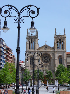Church in Gijon, Northern Spain