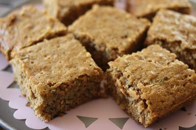healthy cinnamon spice zucchini cake