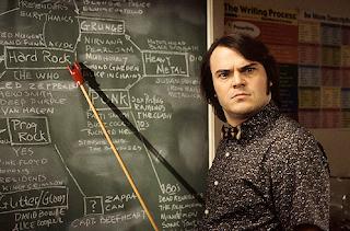 Dewey Finn in School of Rock