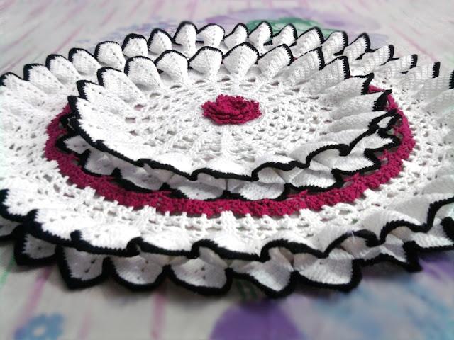 Free Crochet Magnolia Flower Pattern : My