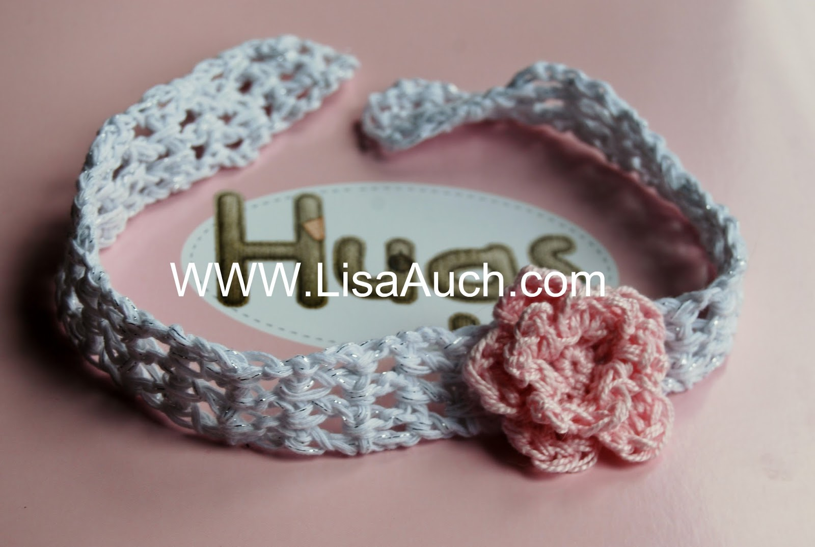 Crochet Flower Headband Crochet Pattern Red Heart Auto ...