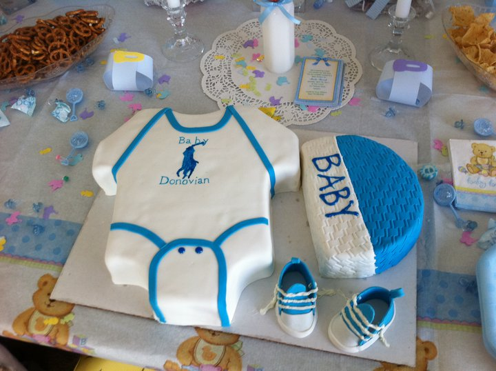 Captivating (lol) The First Cake I Wanted Was The Polo Cake. Because It Was Soo Cute It  Was Already Said We Weu0027re Just Going To Freeze It Until Donovianu0027s First ...