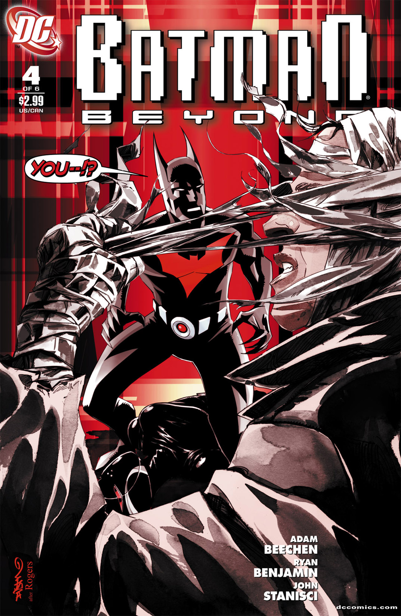 Batman Beyond (2010) Issue #4 #4 - English 1