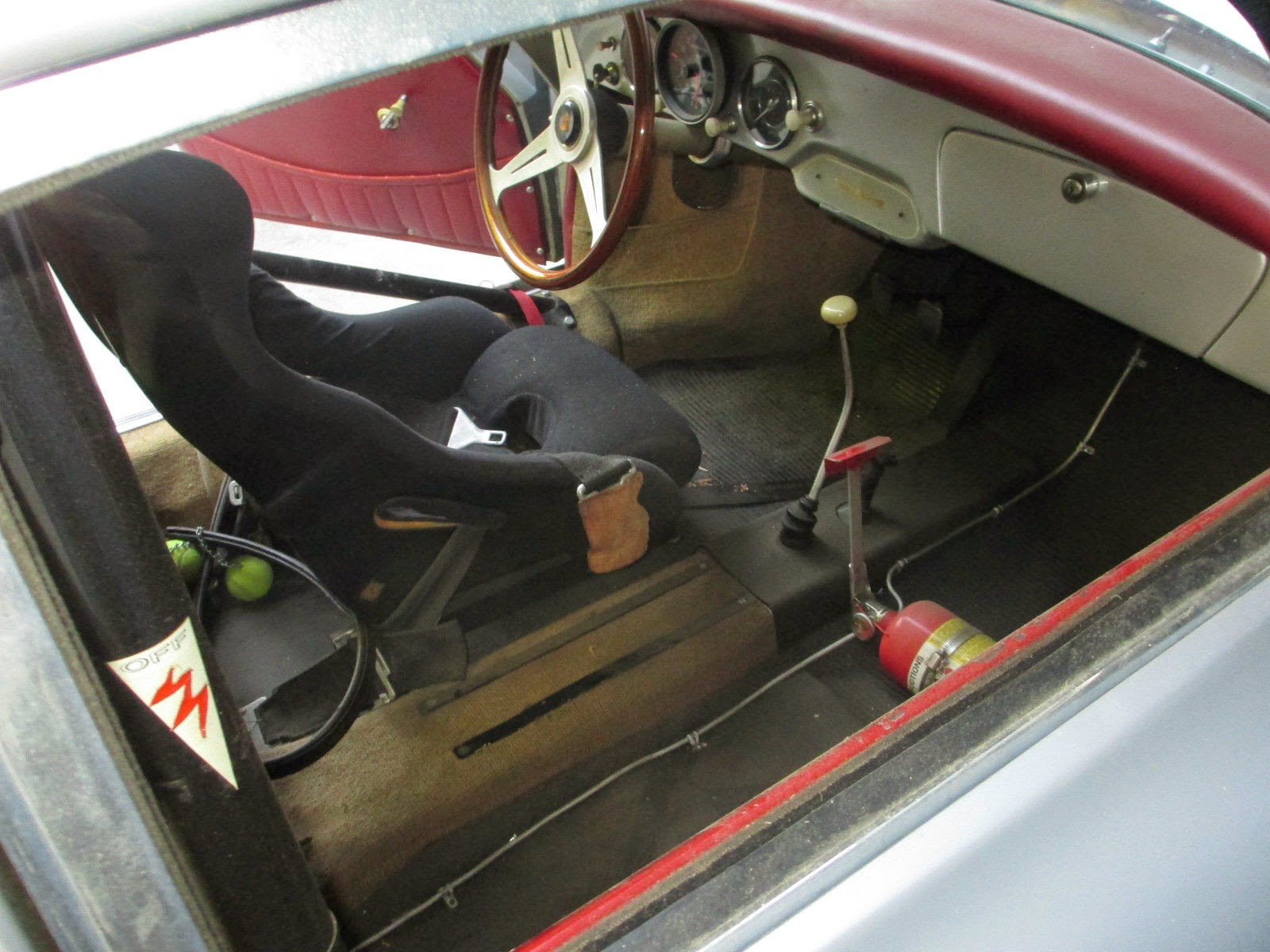 1959 porsche 356 coupe vintage race car. Black Bedroom Furniture Sets. Home Design Ideas