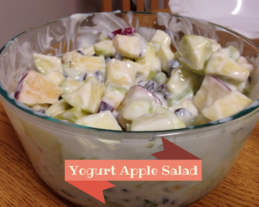 Yogurt Apple Salad