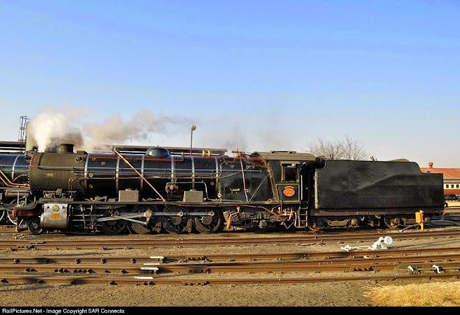 Ex SAR Class 12AR No. 1535