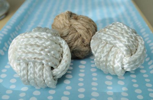 monkey fist decorator balls