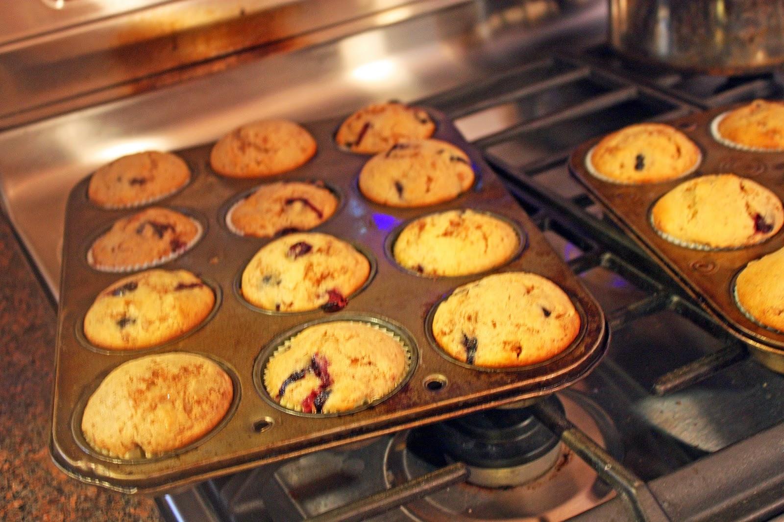 cinnamon burst blueberry muffins cooking light