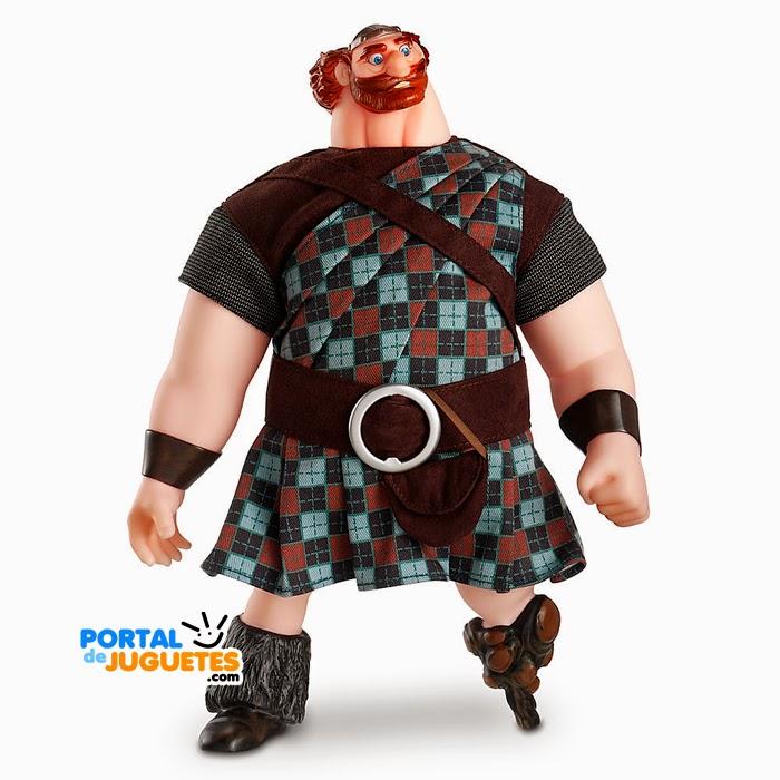 muñeco rey fergus brave disney store