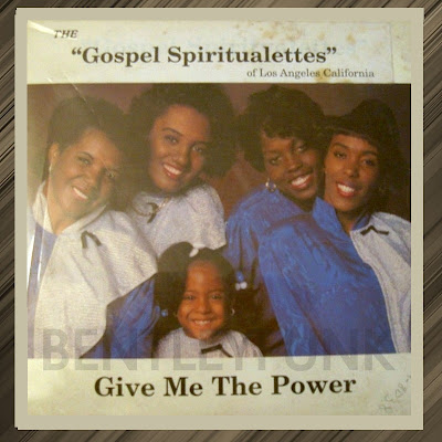 The Gospel Spiritualettes Of Los Angeles California  1981  Give me the power