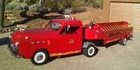 Auction Watch: 1951 Crosley Pickup, Hook and Ladder Trailer