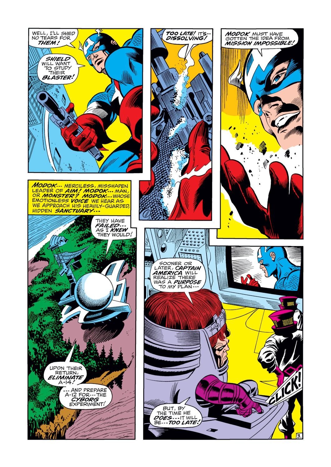 Captain America (1968) Issue #124 #38 - English 4