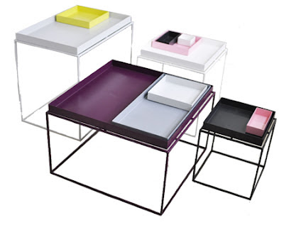 mesa auxiliar tray table by hay dg arquitecto valencia. Black Bedroom Furniture Sets. Home Design Ideas