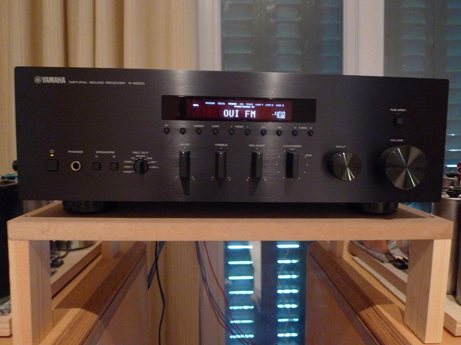 sr system audio ma mini chaine yamaha r s500 wt2. Black Bedroom Furniture Sets. Home Design Ideas