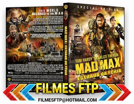 Mad Max Estrada Da Fúria 2015 Dublado DVD-R / AVI