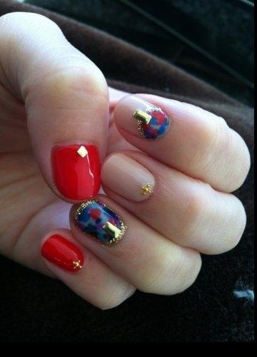 nails Unhas Decoradas Arte e Idéias para o Inverno 2013