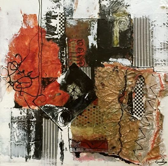 Lee Canalizo Contemporary Art: Mixed Media Abstract Art ...